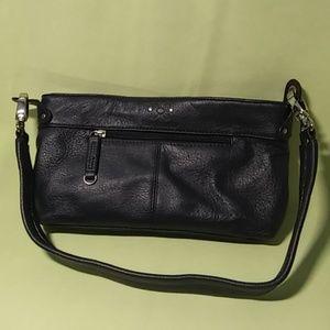 Stone Mountain Leather Bag Navy